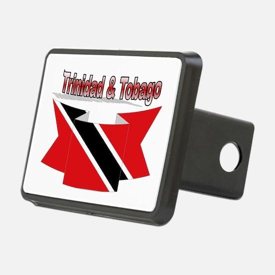 Trinidad flag ribbon Hitch Cover