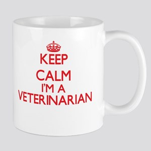 Keep calm I'm a Veterinarian Mugs