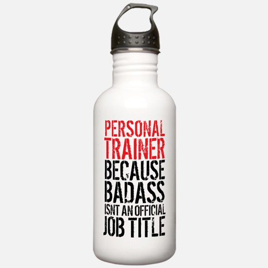 Badass Personal Traine Water Bottle