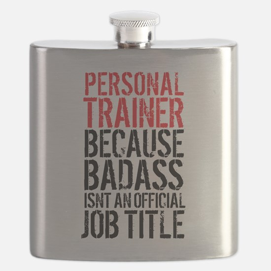 Badass Personal Trainer Funny Flask