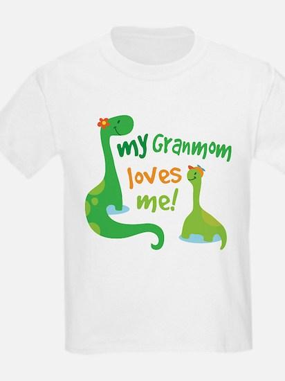 My Granmom Loves Me Dinosaur T-Shirt