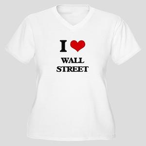I love Wall Street Plus Size T-Shirt