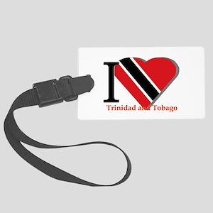 I love Trinidad Large Luggage Tag