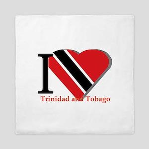 I love Trinidad Queen Duvet