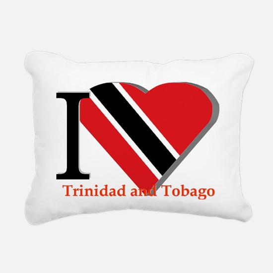I love Trinidad Rectangular Canvas Pillow