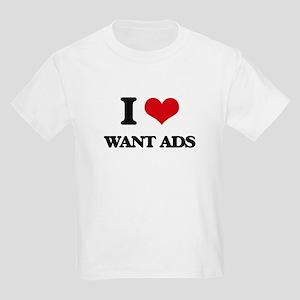 I love Want Ads T-Shirt