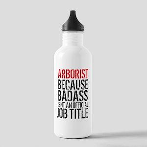 Badass Arborist Fun Stainless Water Bottle 1.0L