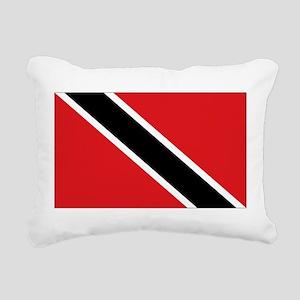 Trinidad flag Rectangular Canvas Pillow
