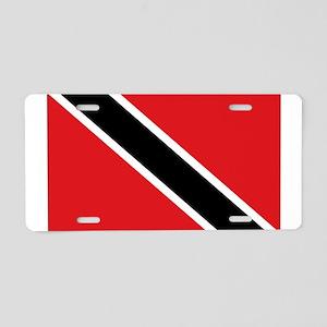 Trinidad flag Aluminum License Plate