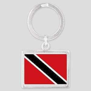 Trinidad flag Landscape Keychain