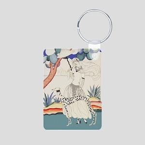 Art Deco Greyhound Keychains