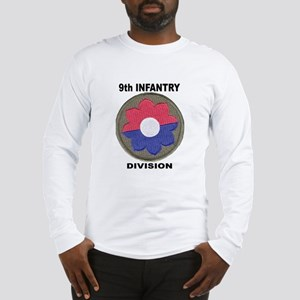 9infdivpatchletters Long Sleeve T-Shirt