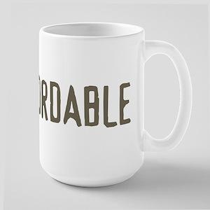 i'm affordable Large Mug