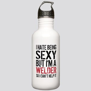 Sexy Welder Humor Stainless Water Bottle 1.0L