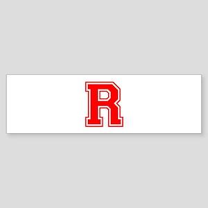 R-var red Bumper Sticker