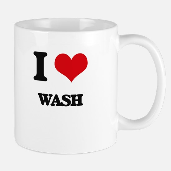 I love Wash Mugs