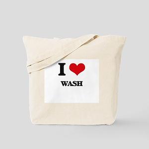 I love Wash Tote Bag