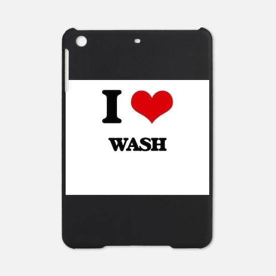 I love Wash iPad Mini Case