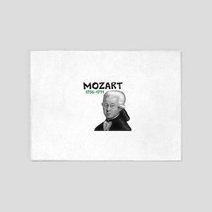 Mozart: Musical Genius 5'x7'Area Rug