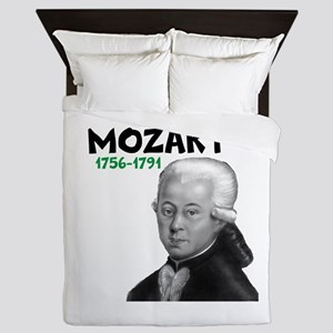Mozart: Musical Genius Queen Duvet