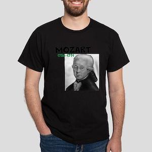 Mozart: Musical Genius Dark T-Shirt