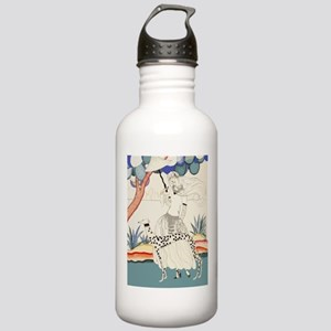Art Deco Greyhound Stainless Water Bottle 1.0l
