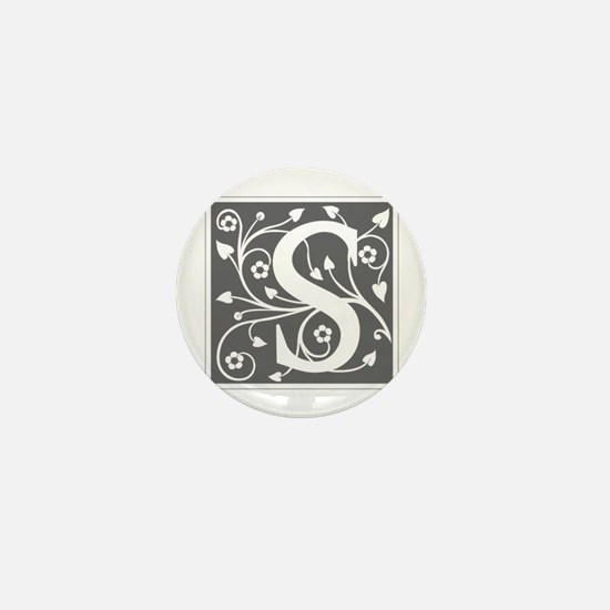 S-ana gray Mini Button