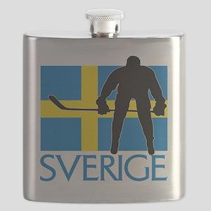 Sverige Ishockey Flask