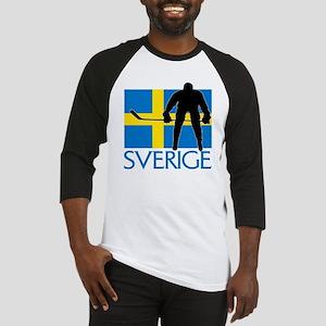Sverige Ishockey Baseball Jersey