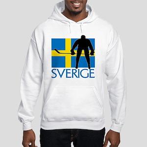 Sverige Ishockey Hooded Sweatshirt