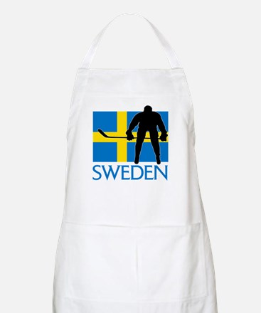 Sweden Hockey Apron