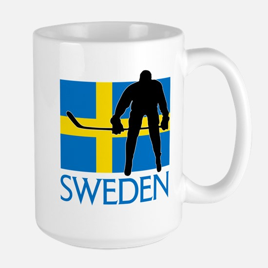 Sweden Hockey Mugs