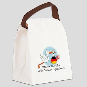 stork baby de2 Canvas Lunch Bag