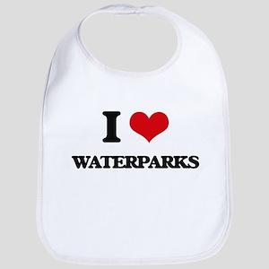 I love Waterparks Bib