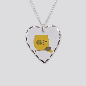 Sweet Honeypot Jar Necklace
