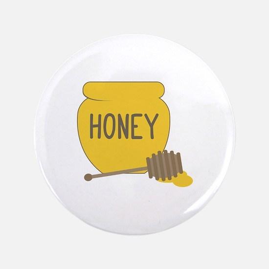 """Sweet Honeypot Jar 3.5"""" Button"""