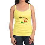 Lady Triker Watercolor Rose Tank Top