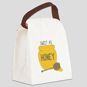 Sweet as Honeypot Canvas Lunch Bag