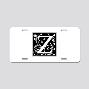 Z-ana black Aluminum License Plate