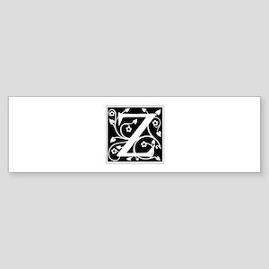 Z-ana black Bumper Sticker