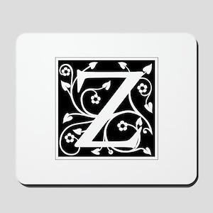 Z-ana black Mousepad