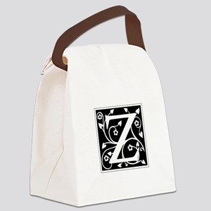 Z-ana black Canvas Lunch Bag