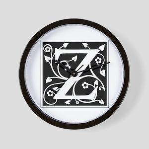 Z-ana black Wall Clock