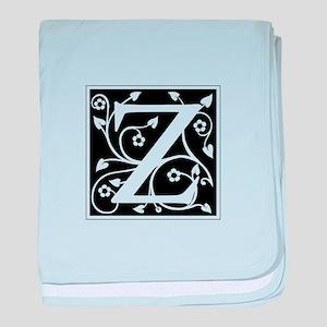 Z-ana black baby blanket