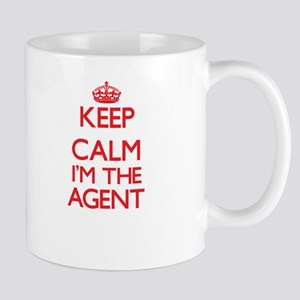 Keep calm I'm the Agent Mugs