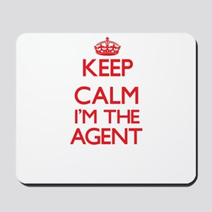 Keep calm I'm the Agent Mousepad