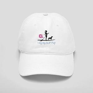 Paddleboard Dog and Girl Cap
