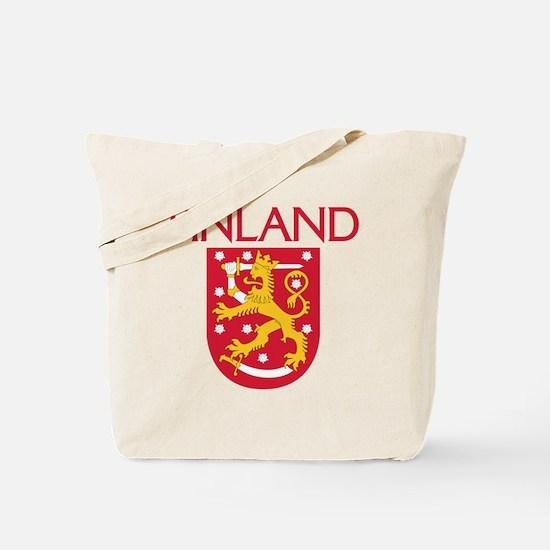 Finland Coat of Arms Tote Bag