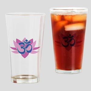 Om_Symbol_Base Drinking Glass