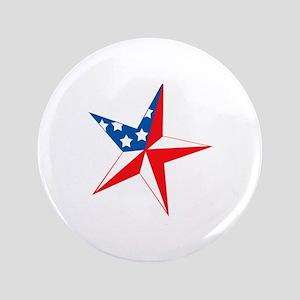 "AMERICAN STAR 3.5"" Button"